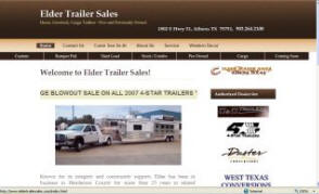 Elder Trailer Sales - www.eldertrailersales.com